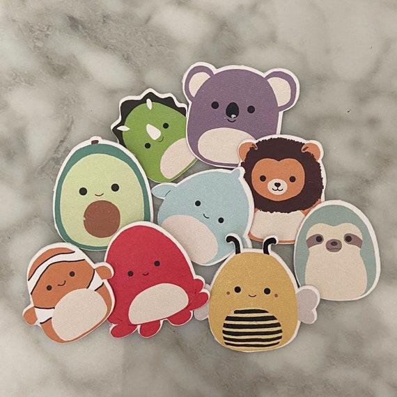Squishmallow Sticker Cute Sticker Laptop Sticker Animal Etsy