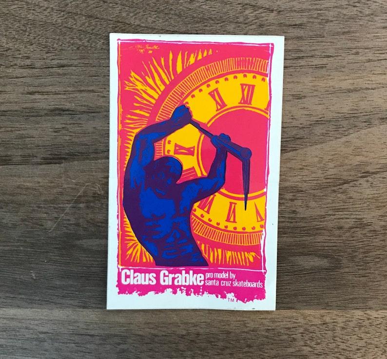 Road rider  Claus Grabke  Santa Cruz duo sticker pack