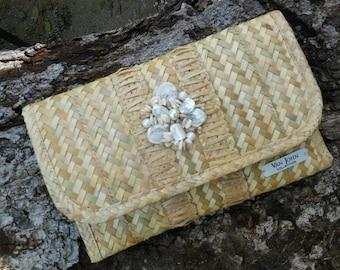 Straw Bags Straw Clutch Purse Clutch Bags Handmade