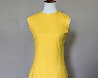 Vintage Yellow Dress by Dalton