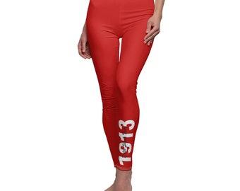 91f106ec93f68 1913 Red Leggings