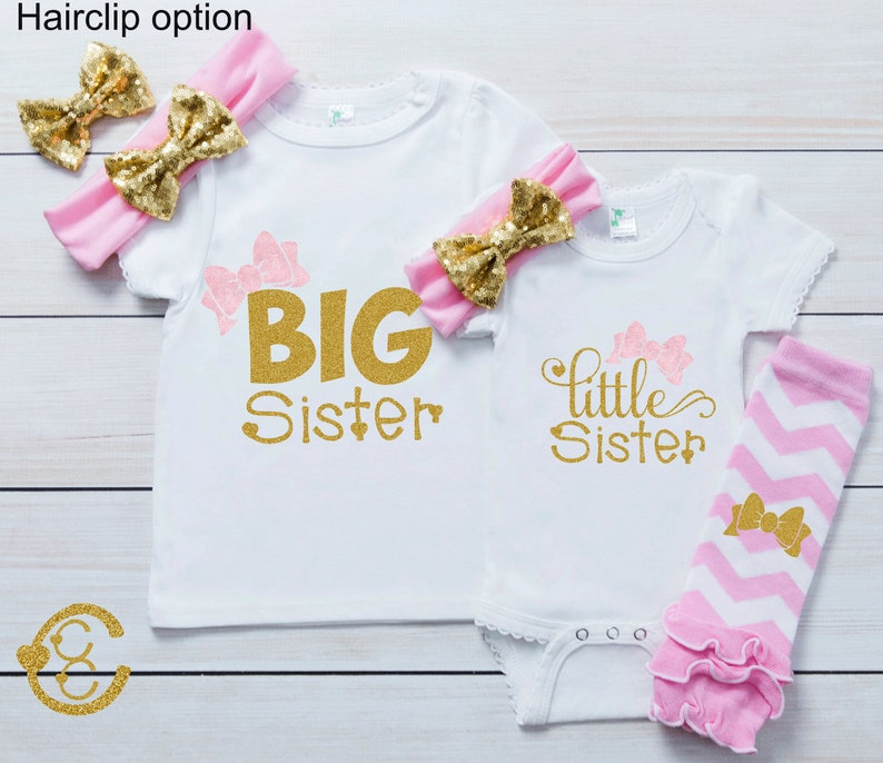 Big Sis Lil Sis Outfit Take Home Outfit Announcement Shirt New Big Sister Big Sister Shirt Big Sister Gift Coming Home Take Home Shirt Girl