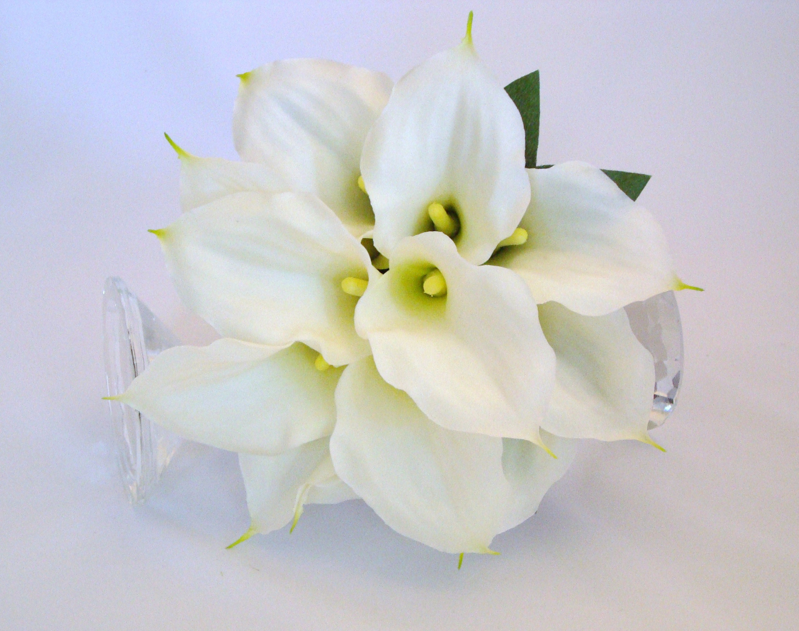 Silk flower bouquet calla lily bouquet bridal bouquet etsy zoom izmirmasajfo