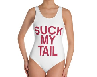Suck My Tail - One-Piece Swimsuit
