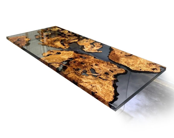 "73""x33"" EPOXY DINING TABLE | Epoxy Kitchen Table | Epoxy Resin | Epoxy Coffee Table | Farm house table | Epoxy table"