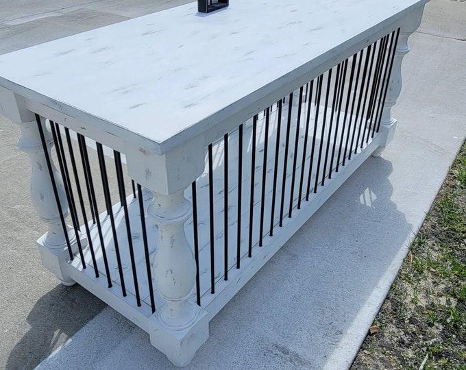 BEST Easy Lock Custom Double Dog kennel Furniture