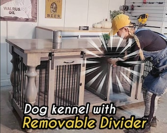 Removable Divider Dog kennel,Dog Crate,Custom Design kennels
