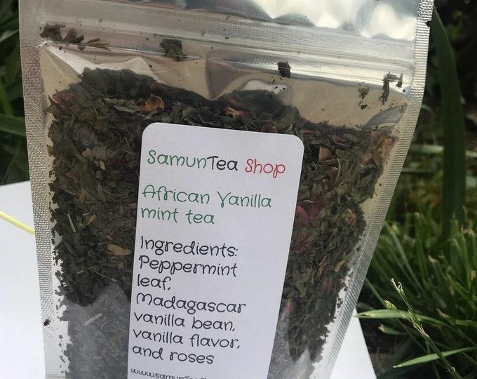 African Vanilla Mint Tea