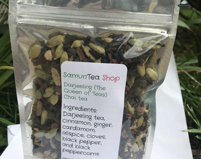 Darjeeling (Queen of black tea) Chai