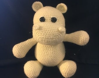 Baby Hippo Amigurumi