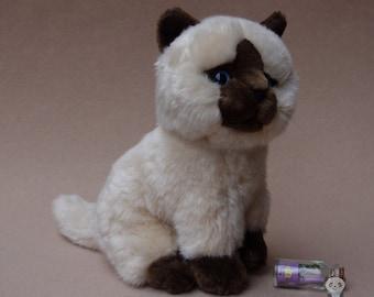 Siamese Cat Stuffed Animal Plush Toy