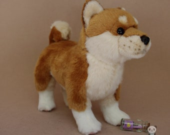 Akita Dog Stuffed Animal Plush Toy