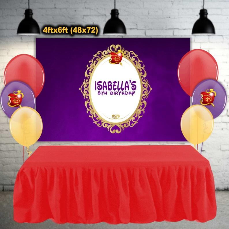 Descendants Frame Party Banner