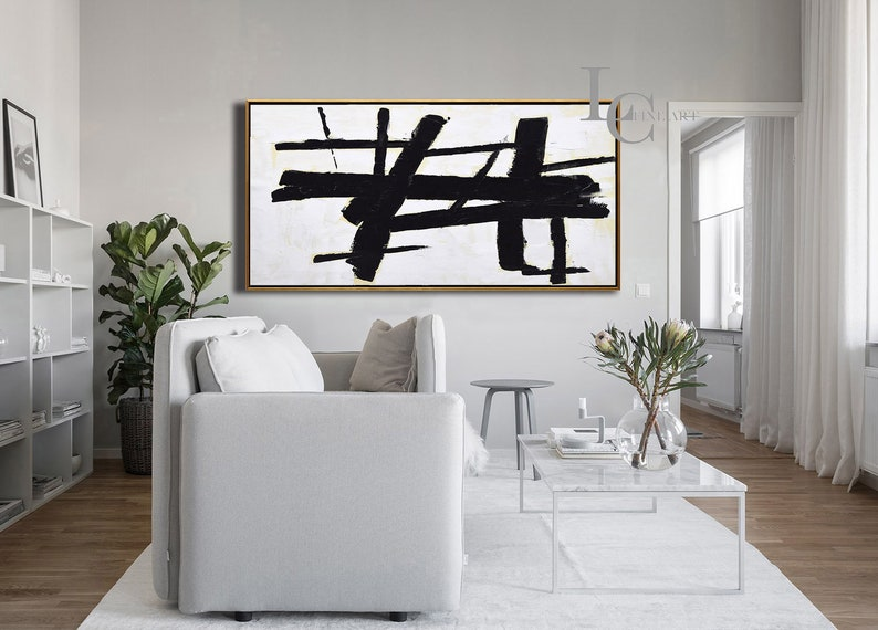 Extra Large Modern Wall Art Textured Painting Original image 0