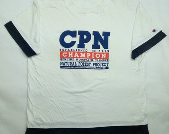 Vintage 90's Champion Products Tshirt