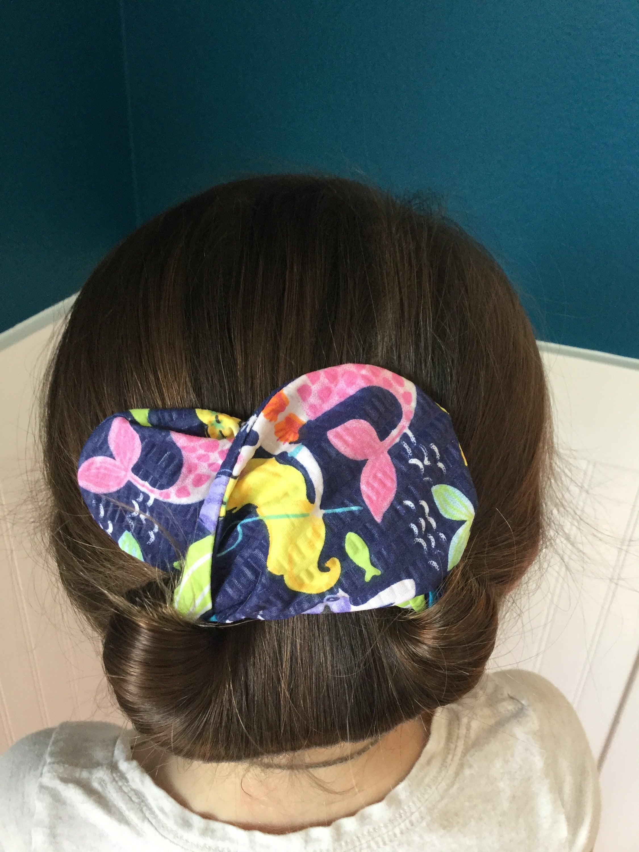 The Bun And Done Hair Accessory Bun Maker Hair Style Blue