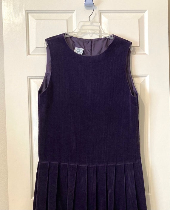 Laura Ashley low-waisted corduroy jumper