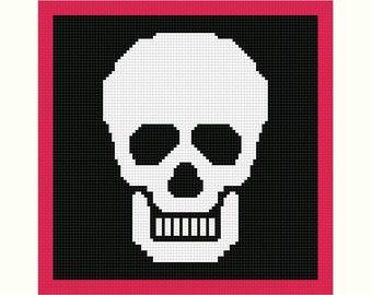 Crochet Skull Etsy