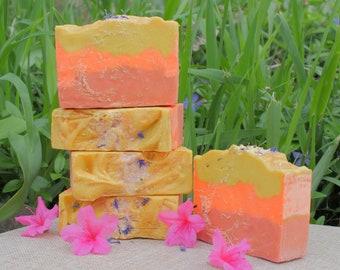 Almond Loofah Soap