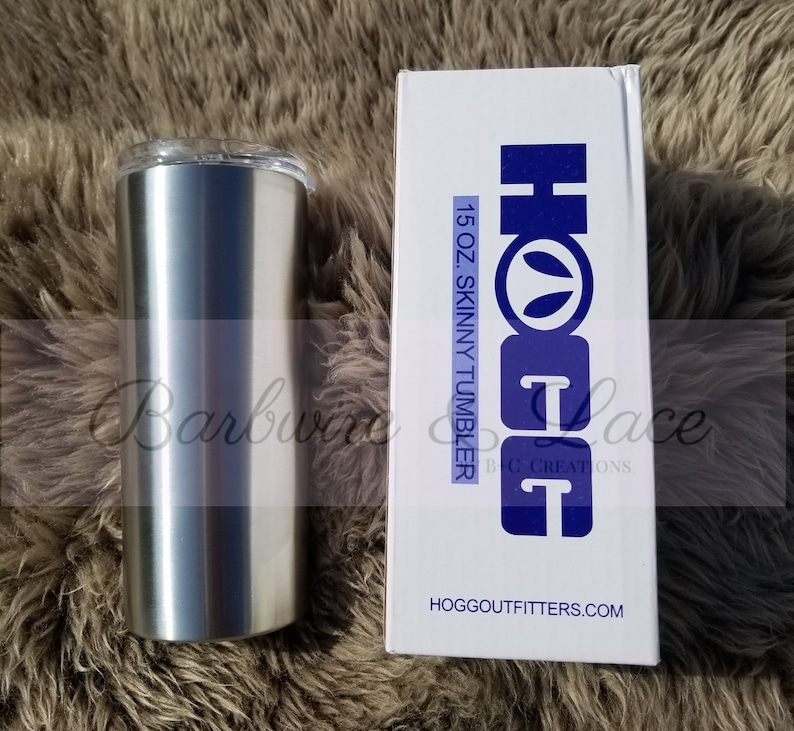 Create Your Own! | HOGG Skinny Kids Tumbler-Pick your colors!