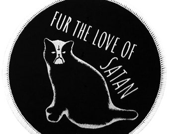 Satan Cat Patch.
