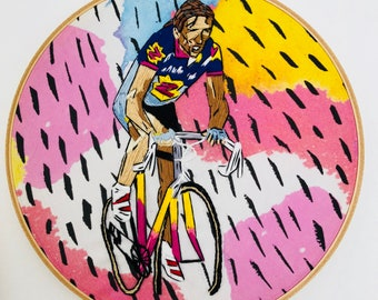 Team Z cycling embroidery