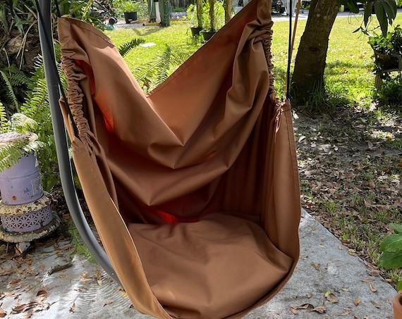 Hammock chair swing, Canvas swing,  Indoor chair swing, Sensory chair swing, Porch chair, Playroom swing, Reading nook swing