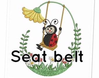 Baby swing seat belt, Nursery swing seat belt, Toddler swing seat belt, Baby swing safety seat belt