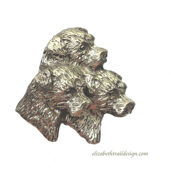 Border Terrier Pendant Necklace,  Handcrafted Sterling Silver Border Terrier Jewelry