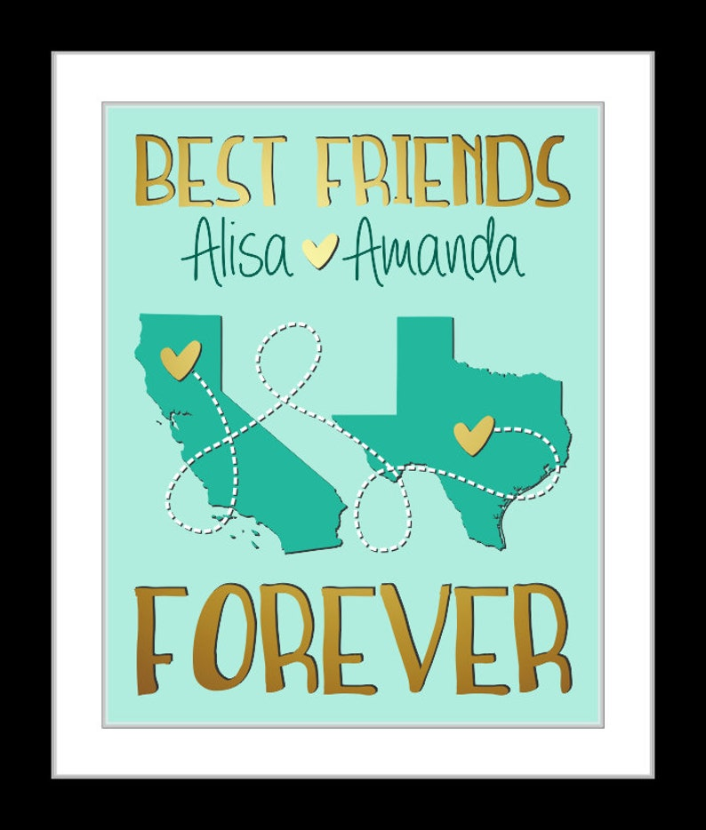 Popular Best Friend Gift Friends Or Sister Leaving Home Going Etsy