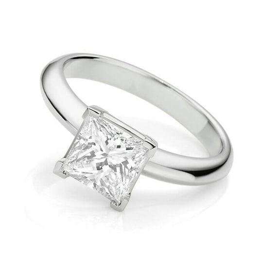 Red Garnet White Topaz Solid 925 Sterling Silver Statement Ring For Women//Girls