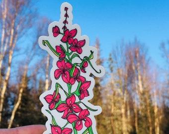 Fireweed Sticker