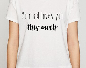 Special mothersday gift Tshirt with text