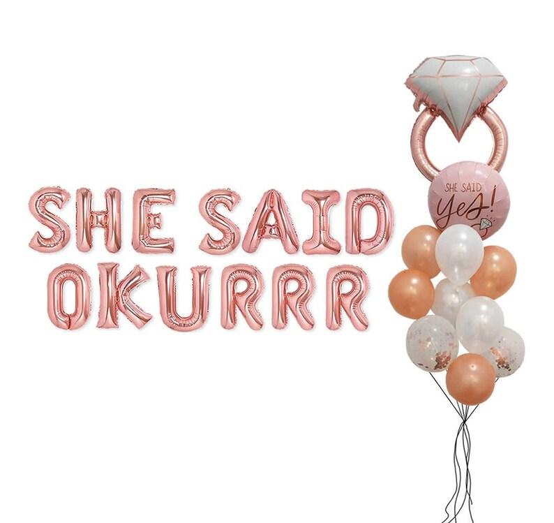 I Love You Diamond Balloon Anniversary Wedding Birthday Party Decors Supplies