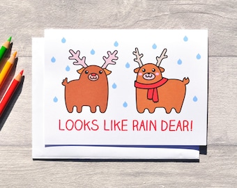 Reindeer pun | Etsy