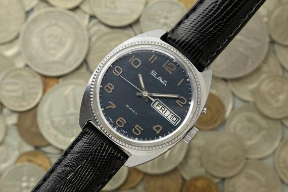 Vintage Russian watch SLAVA, men's watch Slava, me