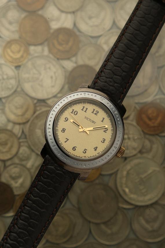 Vintage rare watch VICTORY, men's watch Victory, R