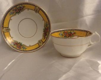 Melba tea cup and saucer