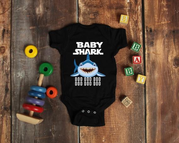 375178ff511 Official VnSupertramp Baby Shark Baby Bodysuit Onesie Doo Doo