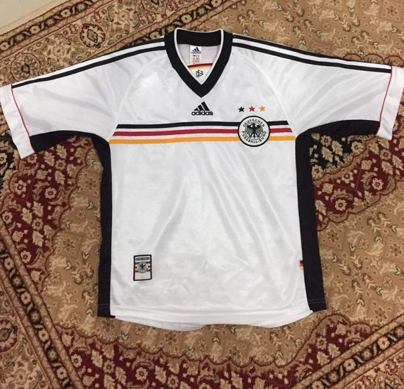 90s ADIDAS Germany Deutschland Soccer Football Jersey Shirt  77f9857af