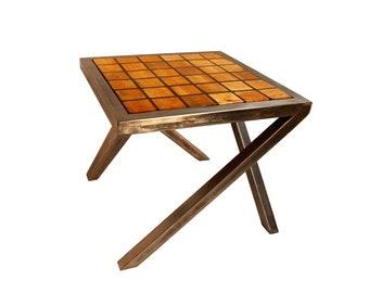 stolik kawowy, styl industrialny, styl loftowy