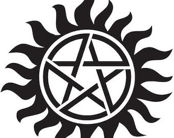 Supernatural Anti Possession Sticker