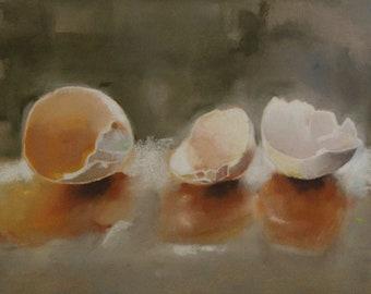 Original Chalks Paintings