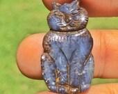 Boulder Opal Carving hand...