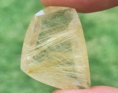 Tourmaline rutile gemston...
