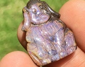 Boulder Opal Dog Carving ...