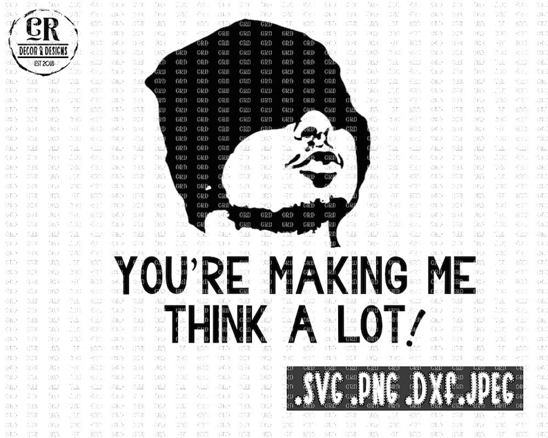 Joker You're Making Me Think Alot Friday svg Next | Etsy  Next Friday Joker Quotes