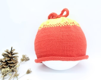 Organic cotton hat - Newborn hat - Knit hat kids - Baby to Kids Sizes  Available -READY TO SHIP 3321e849141e