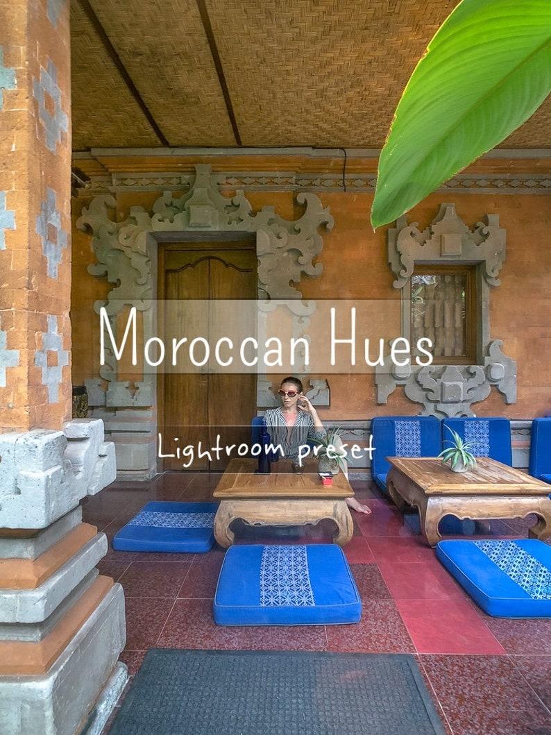 MOROCCAN HUES | Lightroom CC desktop preset
