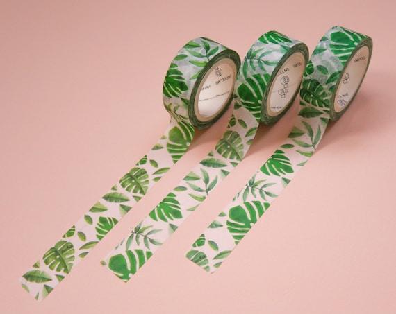 Monstera Leaf Washi Tape